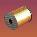 Лента Металлизированная  5 мм х500 золото, шт