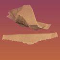 Салфетка Корона коричневая