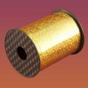 Лента Голографическая 10 мм х250 золото, шт