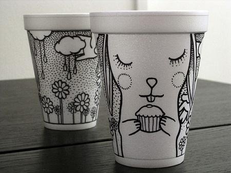 Стаканчики для кофе с логотипом