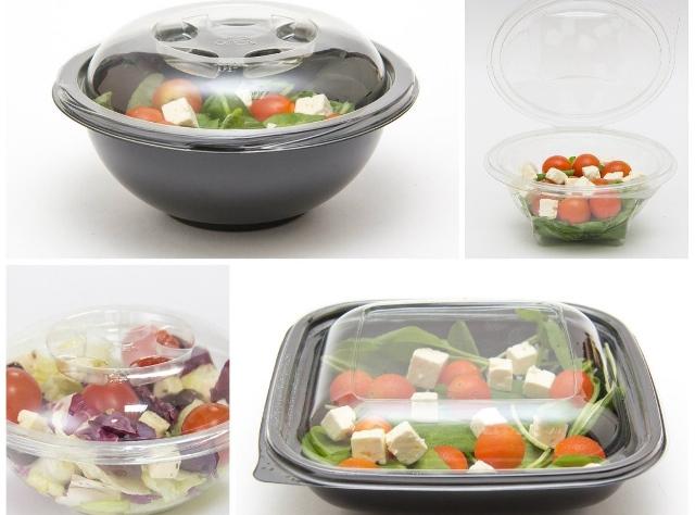 Как используется контейнер для салата?